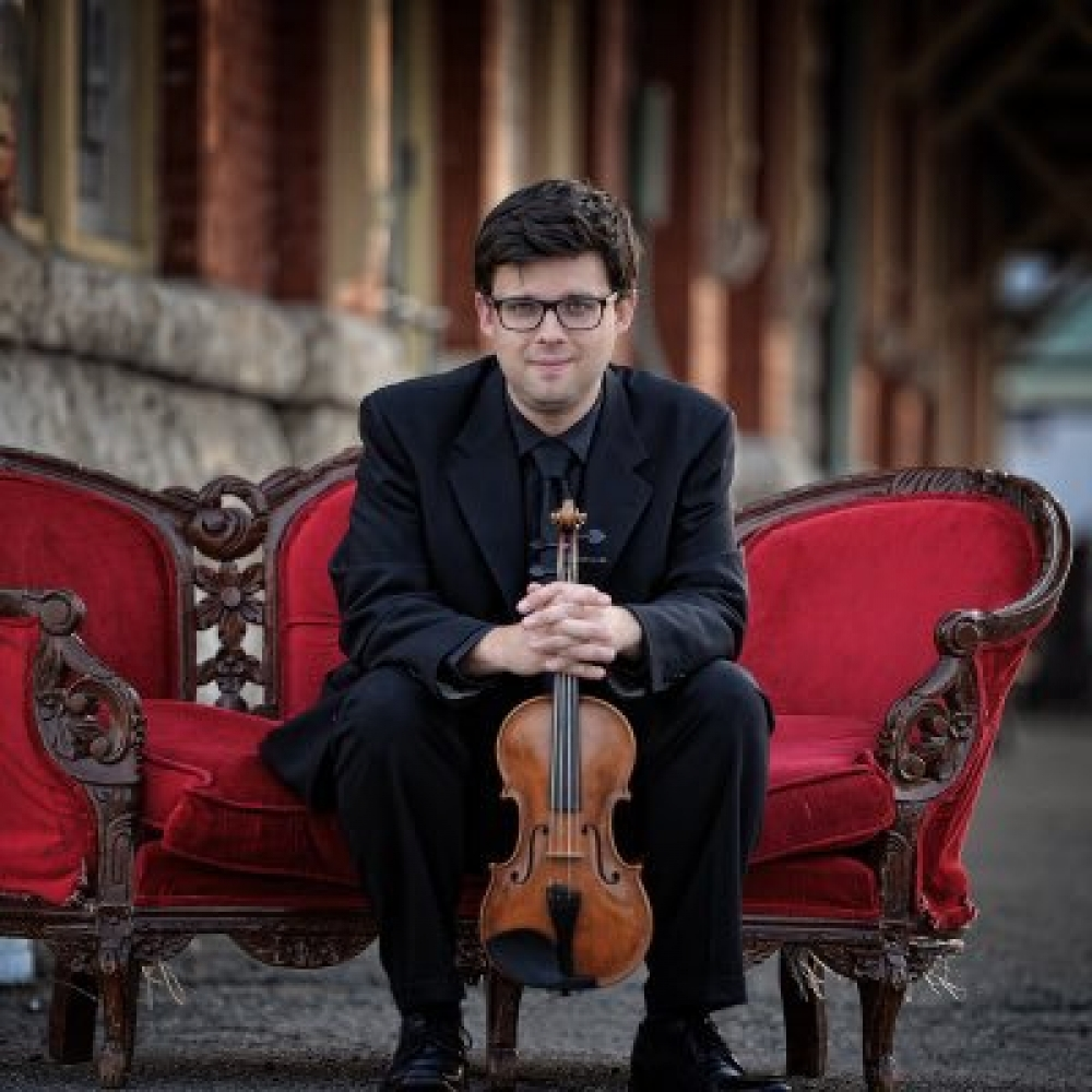 Festival Director Christian Robinson appointed RSO Concertmaster