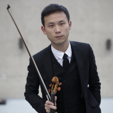 RSS welcomes new RSO Principal 2nd Violinist HengHan Hou